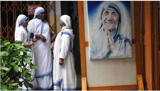 Mother Teresa's charity under investigation for funding fraud.